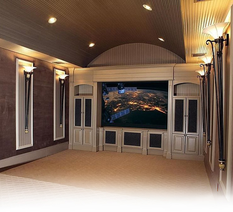 Home theater header